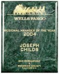 Green Marble Plaque Sales Awards